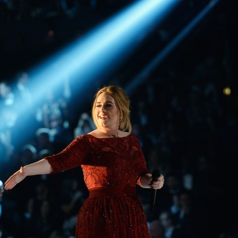Adele won four trophies at the BRITs