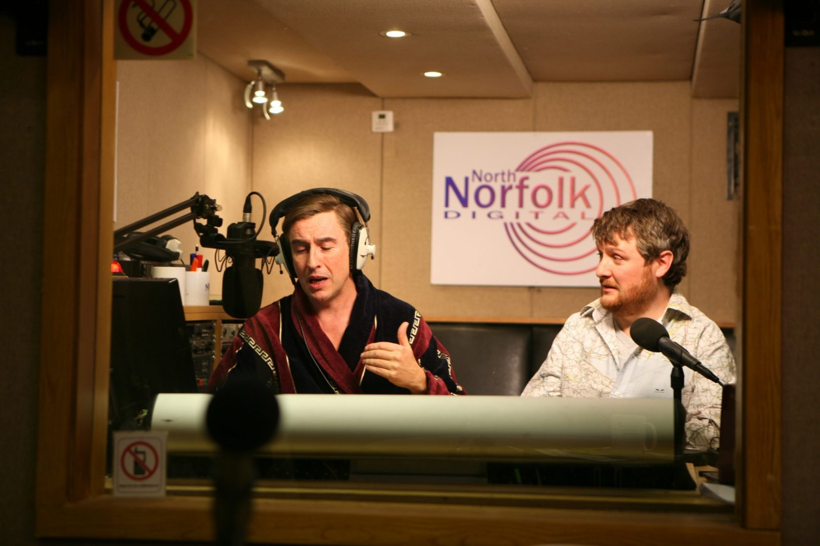 Steve Coogan and Tim Key in the second series of Mid Morning Matters