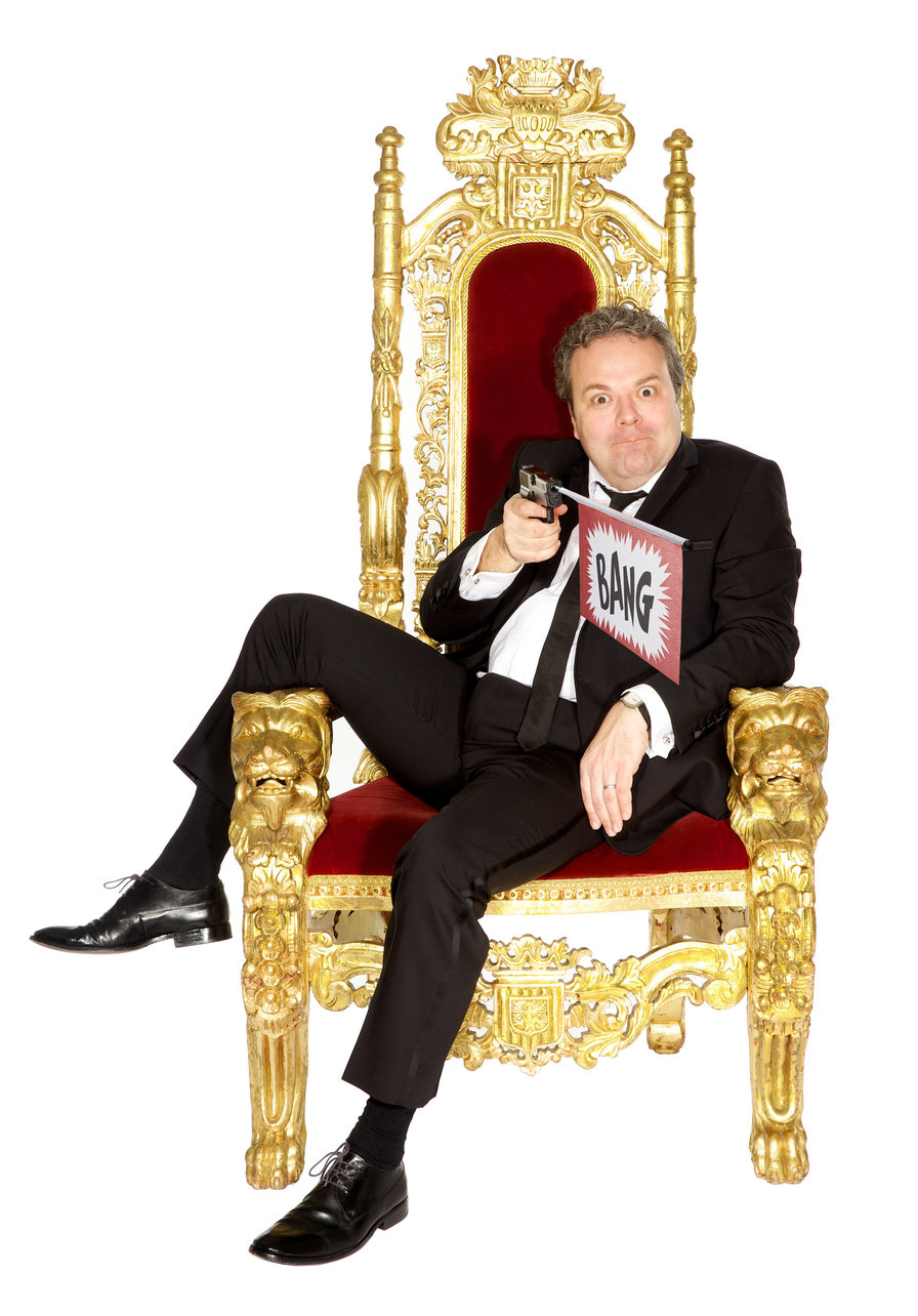 Stand-up comedian Hal Cruttenden