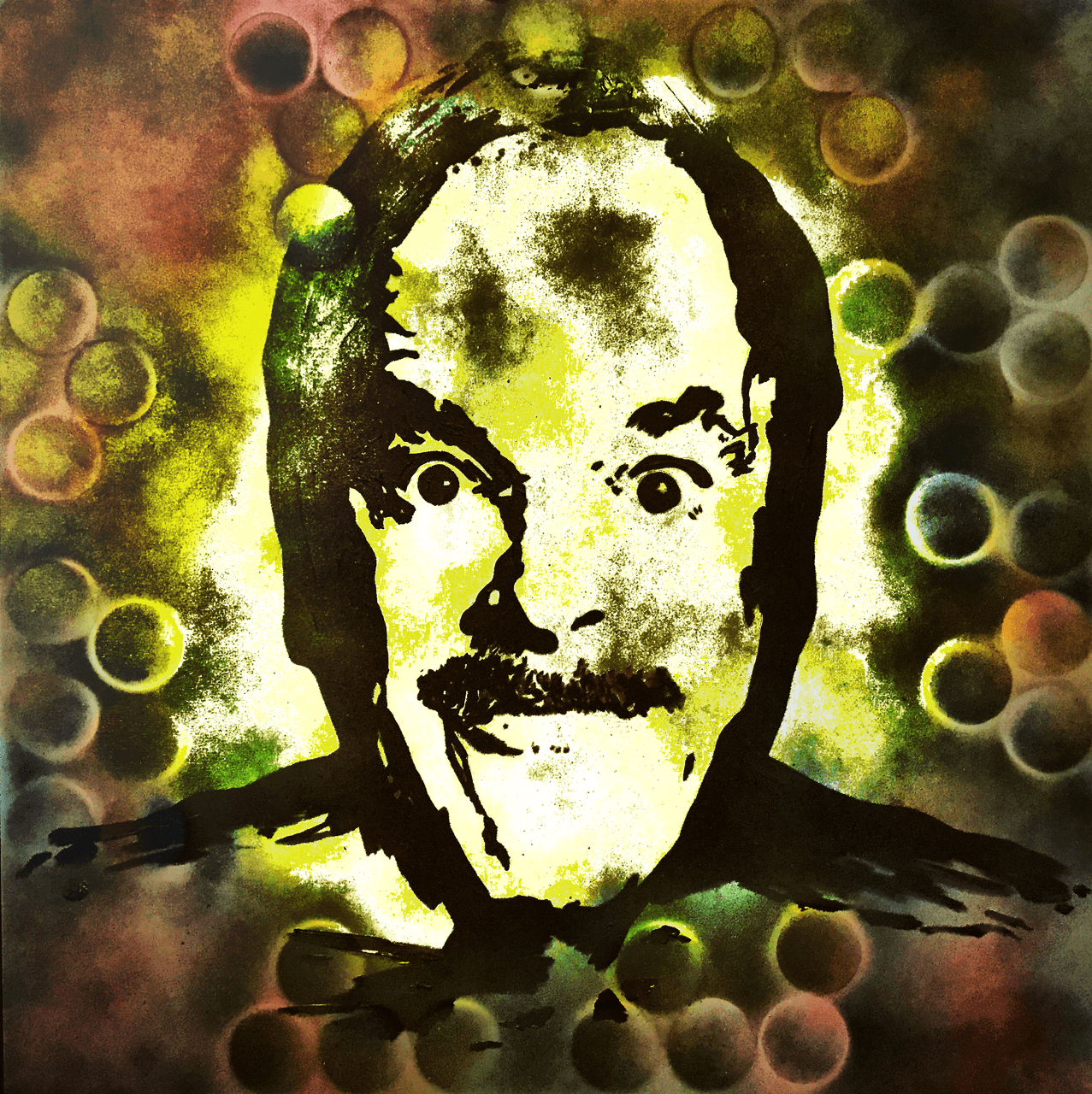 Lincoln Townley's portrait of John Cleese