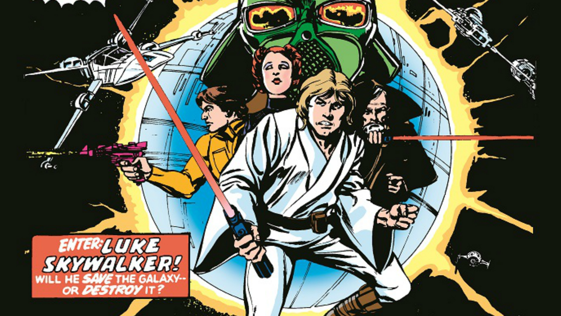 The first issue of Star Wars Comic