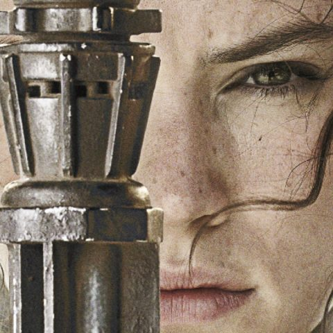 Daisy Ridley Rey Star Wars: The Force Awakens