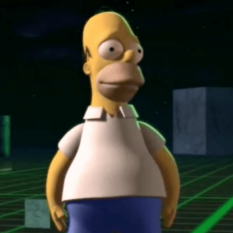 The Simpsons 3D episode