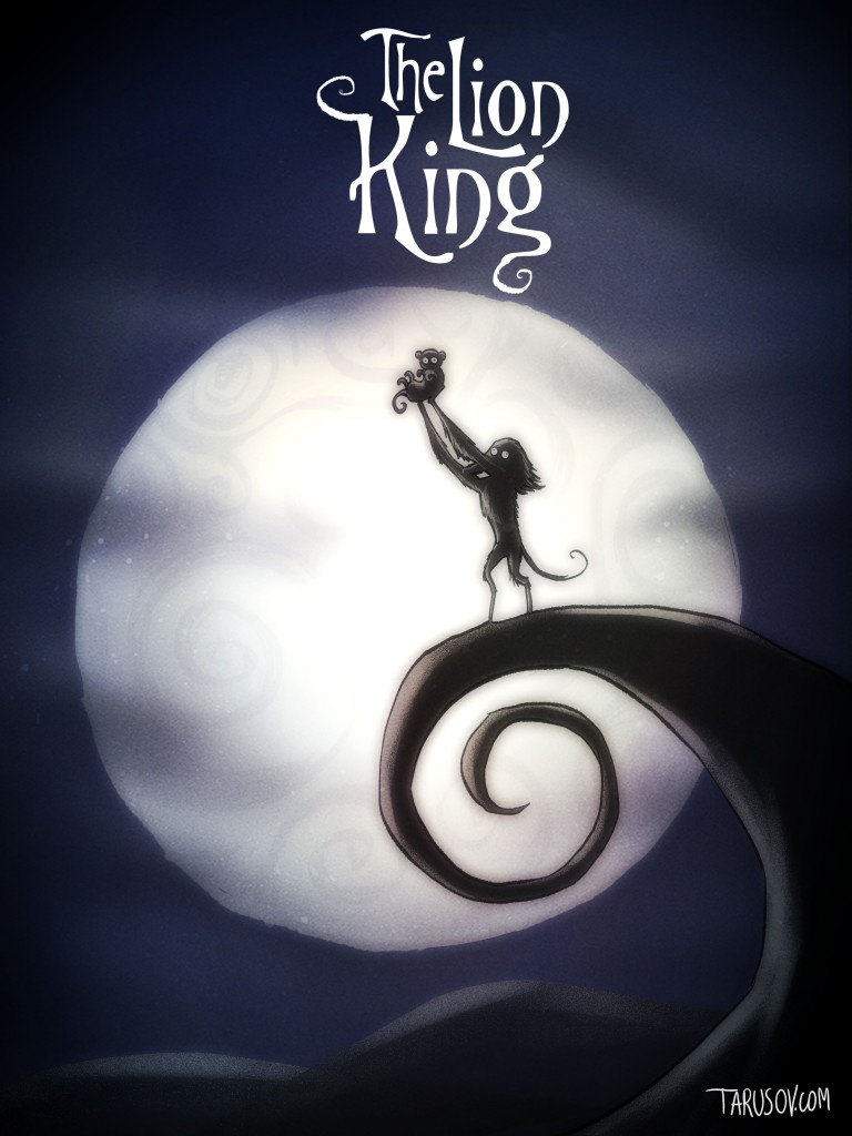 Andrew Taruson Tim Burton Disney The Lion King