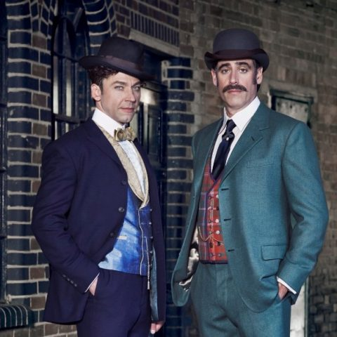 Michael Weston and Stephen Mangan as Houdini and Doyle