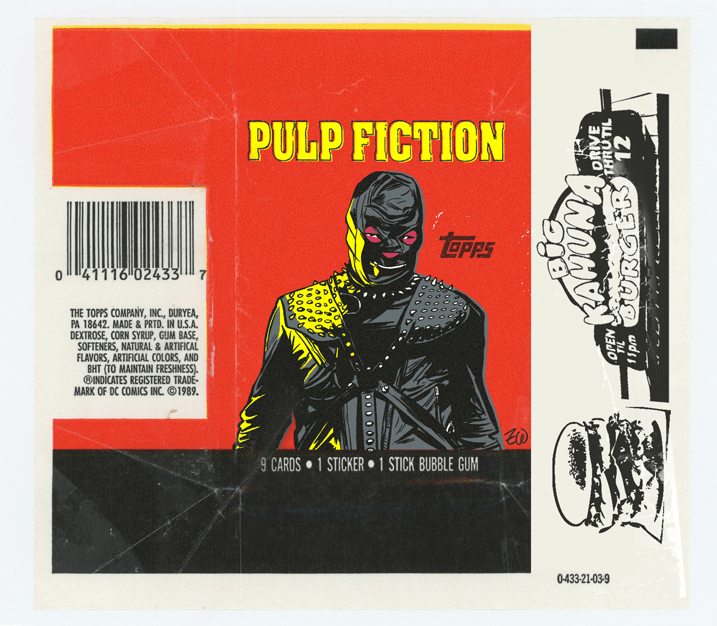 Topps Pulp Fiction