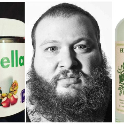 Action Bronson along with Chrontella and weed voka