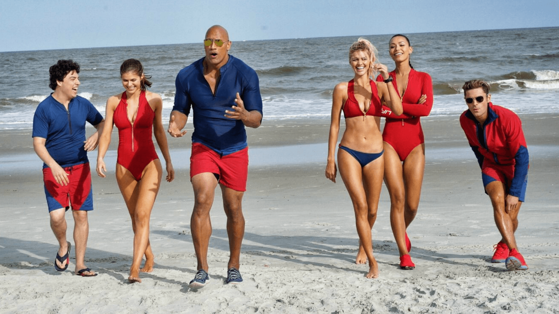 Baywatch cast first look