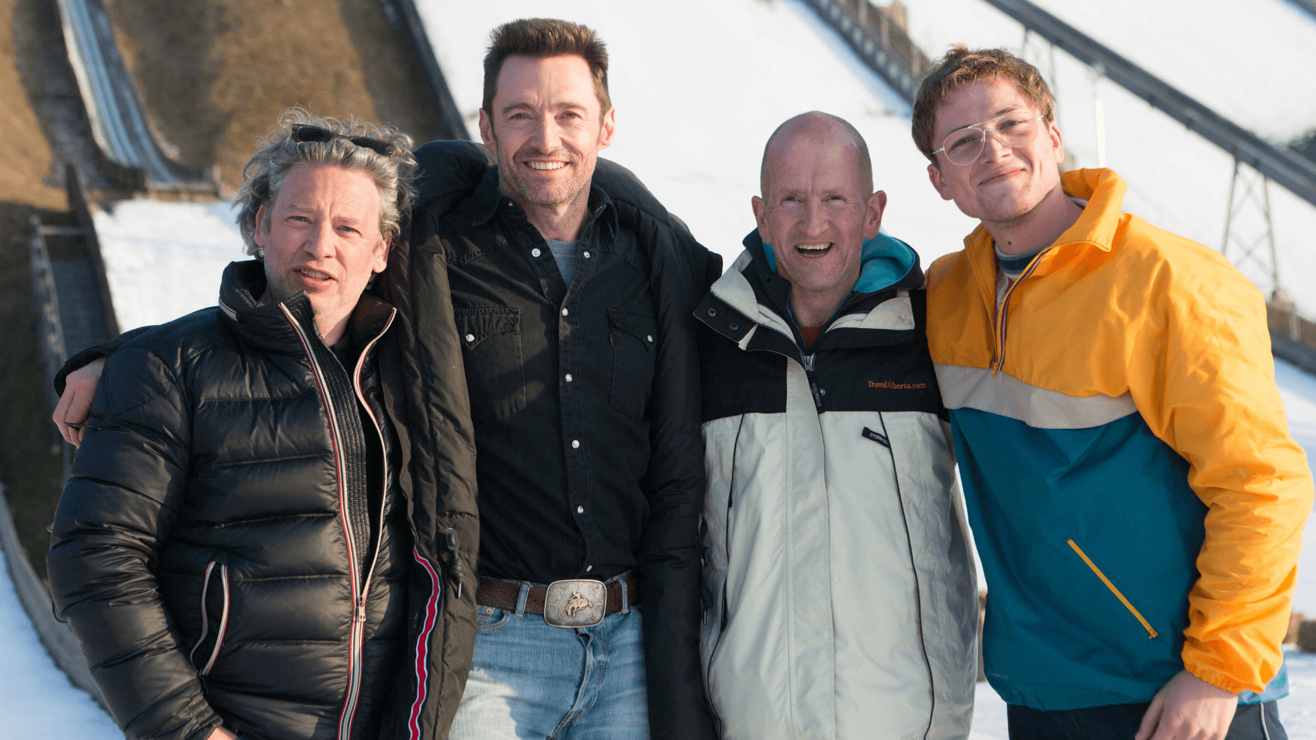 Eddie The Eagle cast and crew