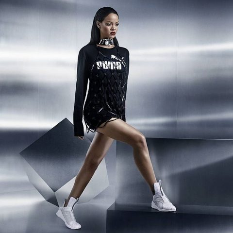 Rihanna modelling part of her new Puma range – Loaded