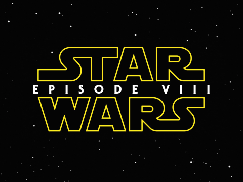 Star Wars Episode VIII logo