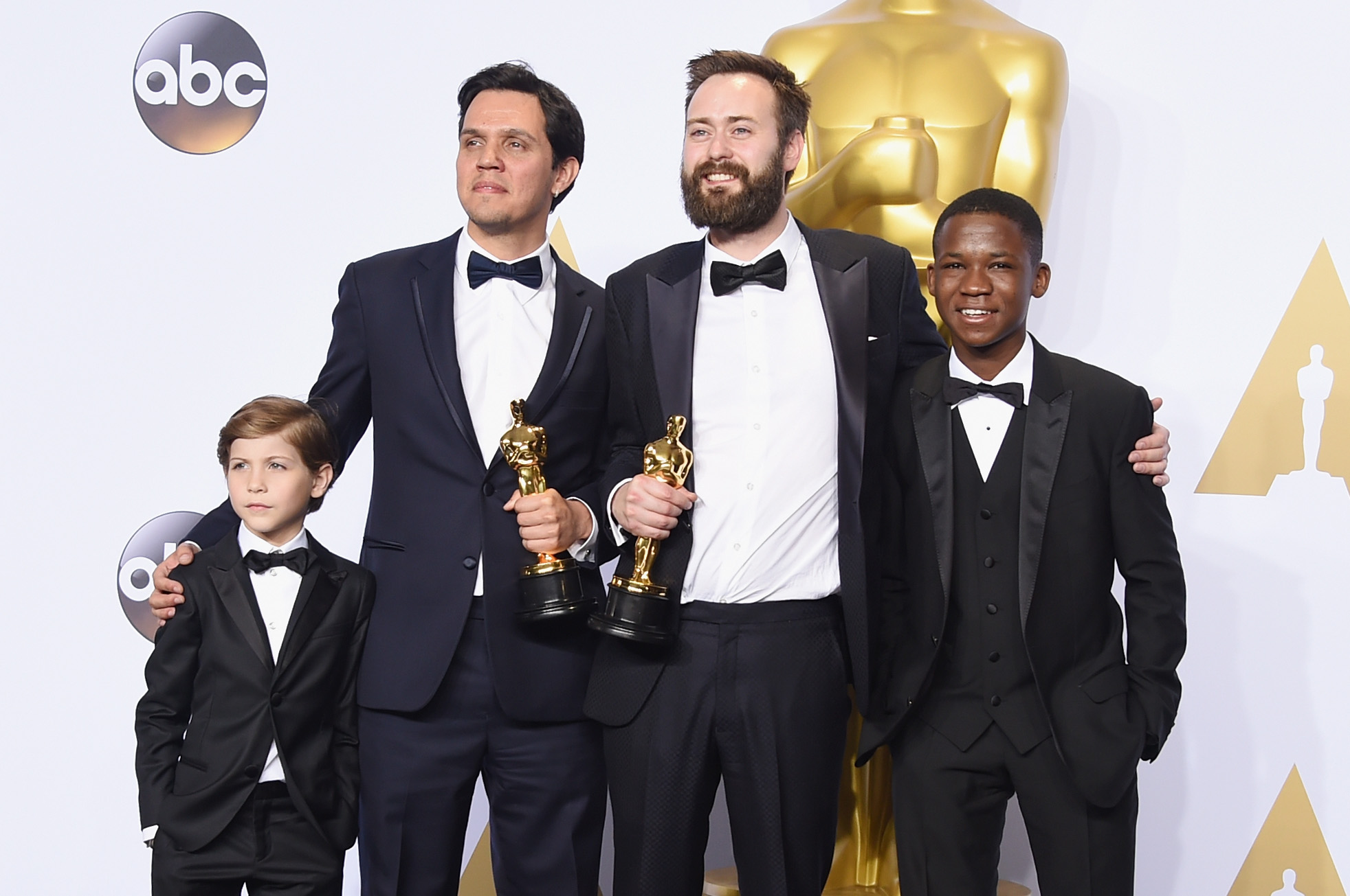 Oscar Jacob Tremblay, Shan Christopher Ogilvie, Benjamin Cleary and Abraham Attah
