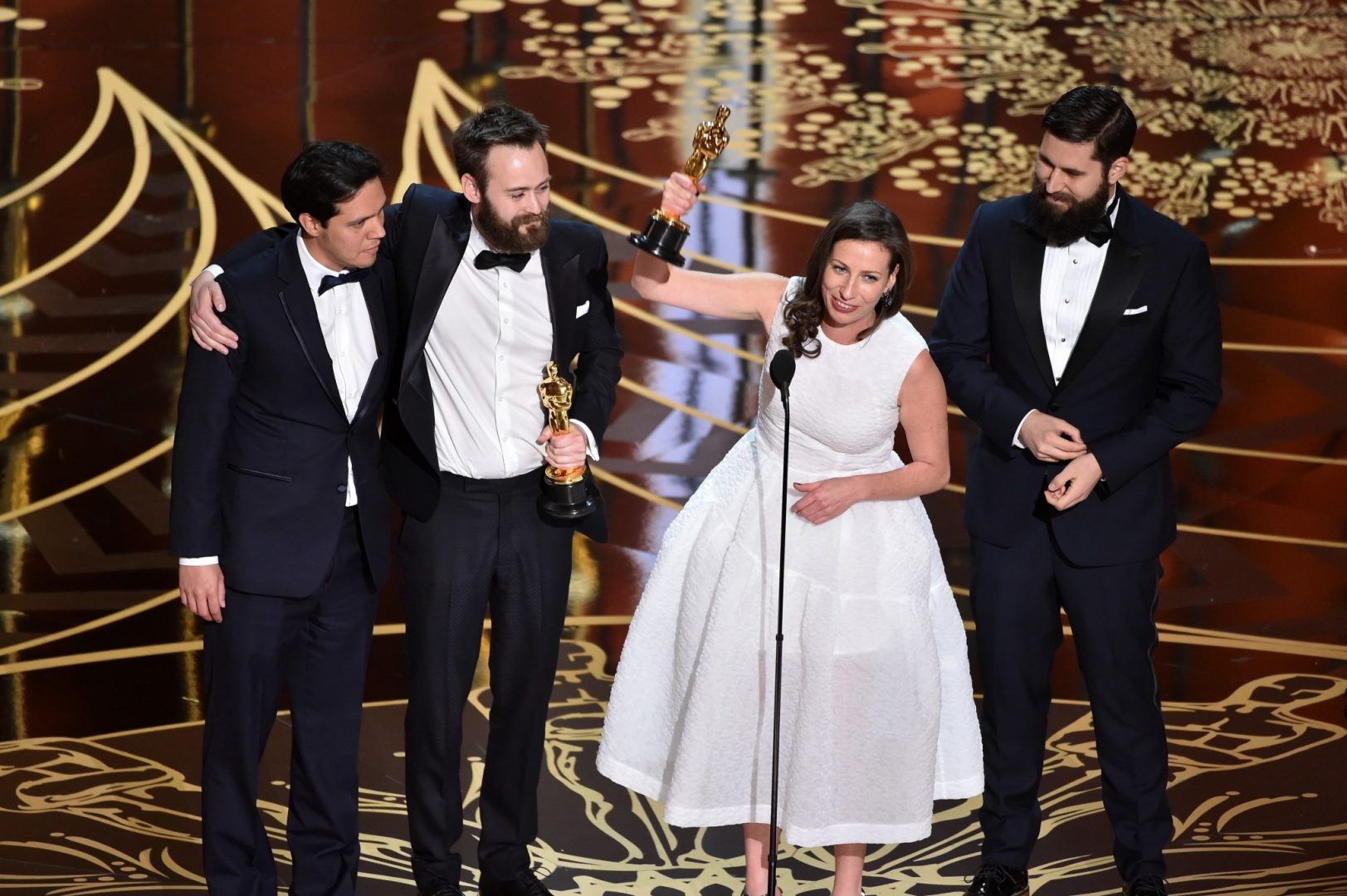 Stutterer team win Oscar