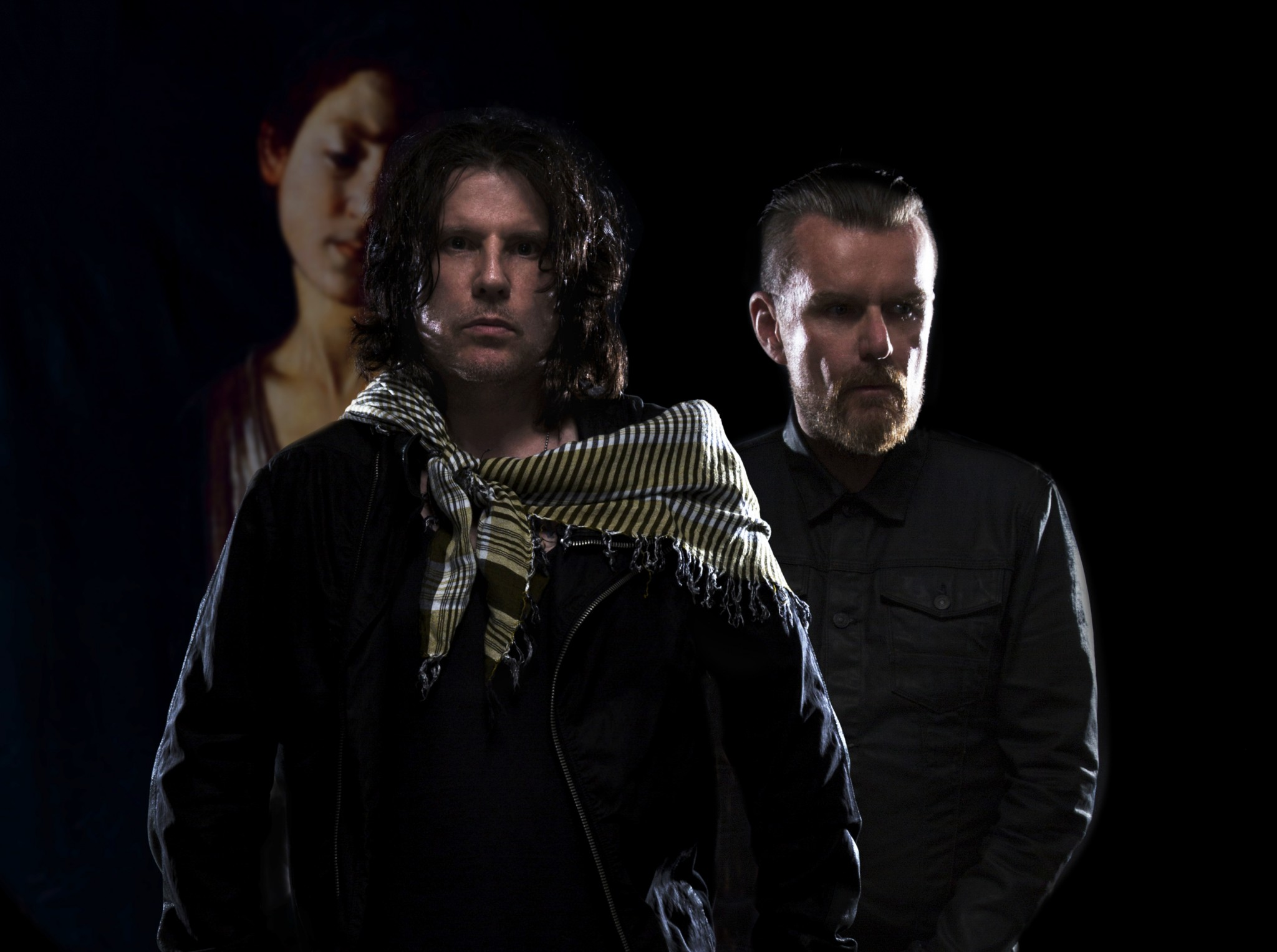 The Cult's Billy Duffy with Ian Astbury – Loaded