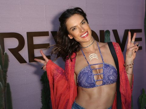 Alessandra Ambrosio at Californian event Revolve