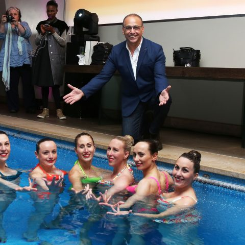 Theo Paphitis at Boux Avenue's SS launch