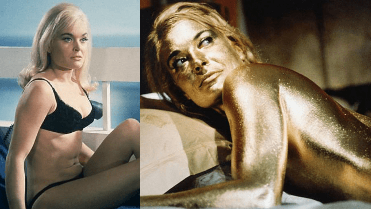 Goldfinger Shirley Eaton Gold Paint