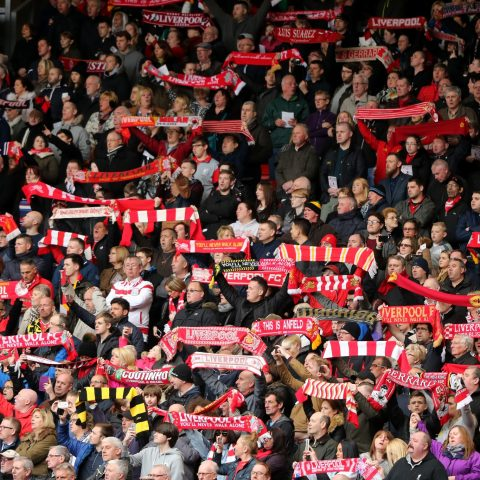 Liverpool fans remember the Hillsborough disaster