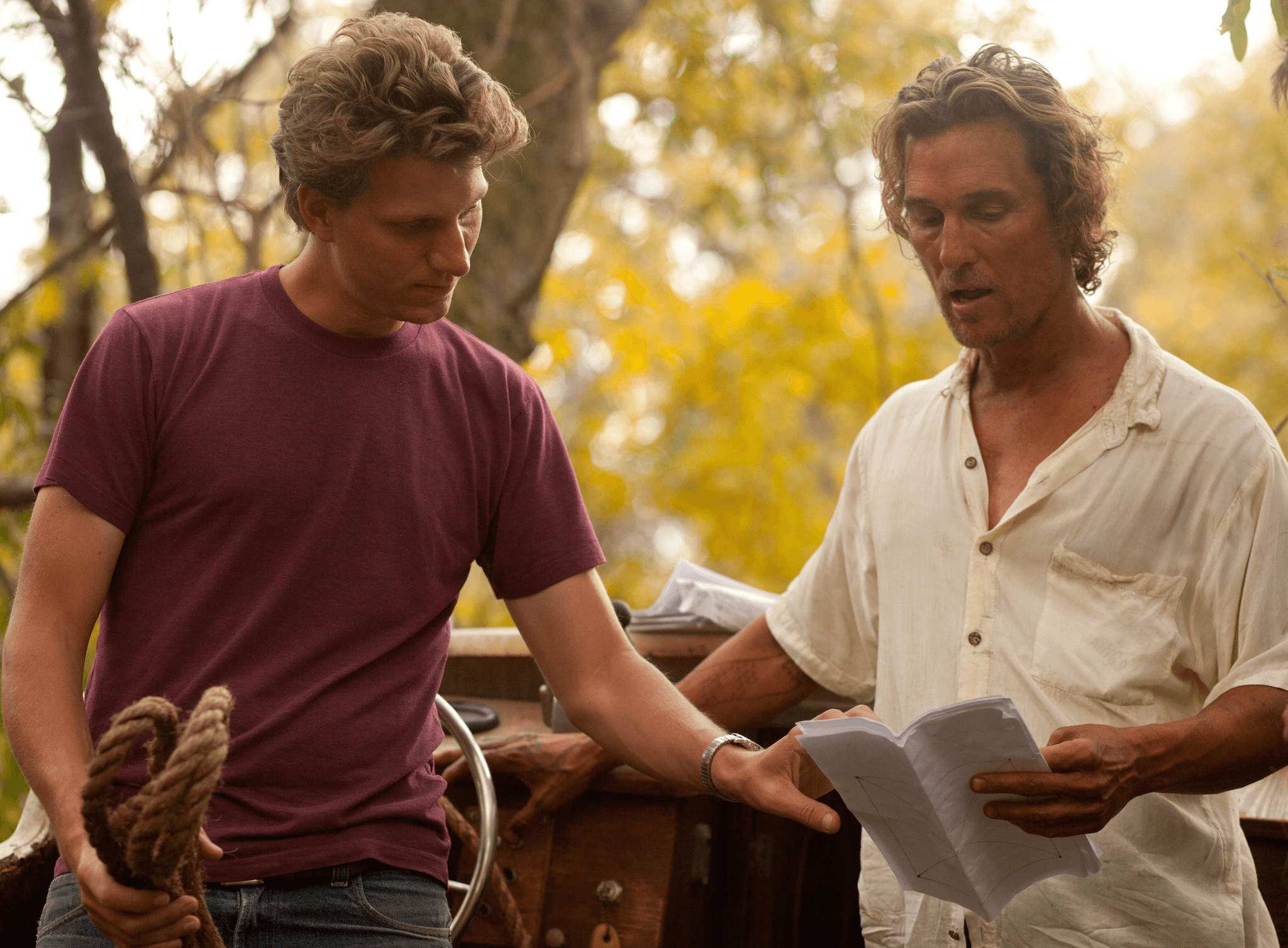 Jeff Nichols and Matthew McConaughey