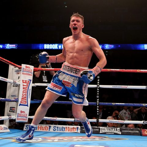 Nick Blackwell retired from boxing after being put in an induced coma