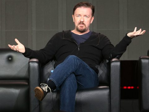 Ricky Gervais after Seona Dancing