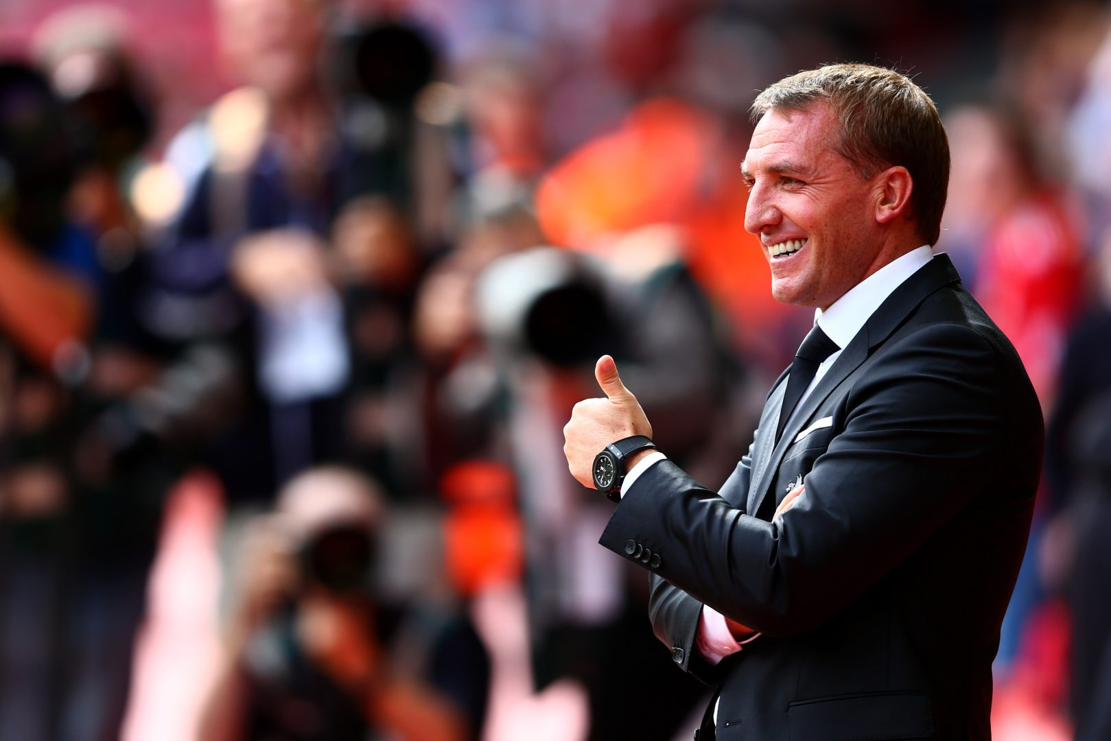 Brendan Rodgers at Celtic.