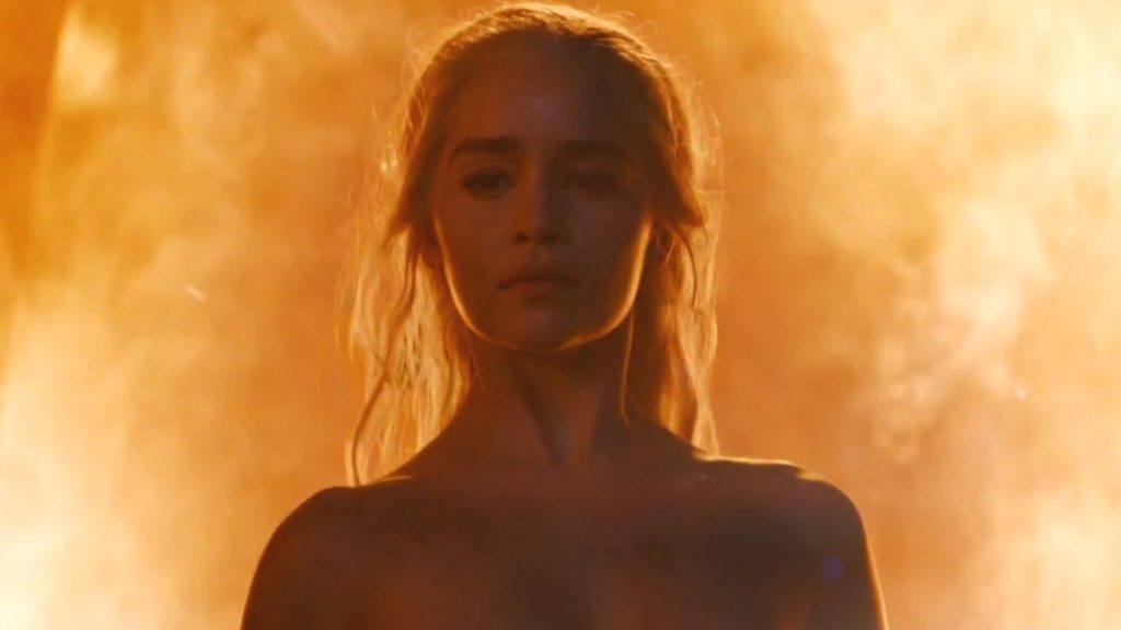 Emilia Clarke nude in Game Of Thrones season six