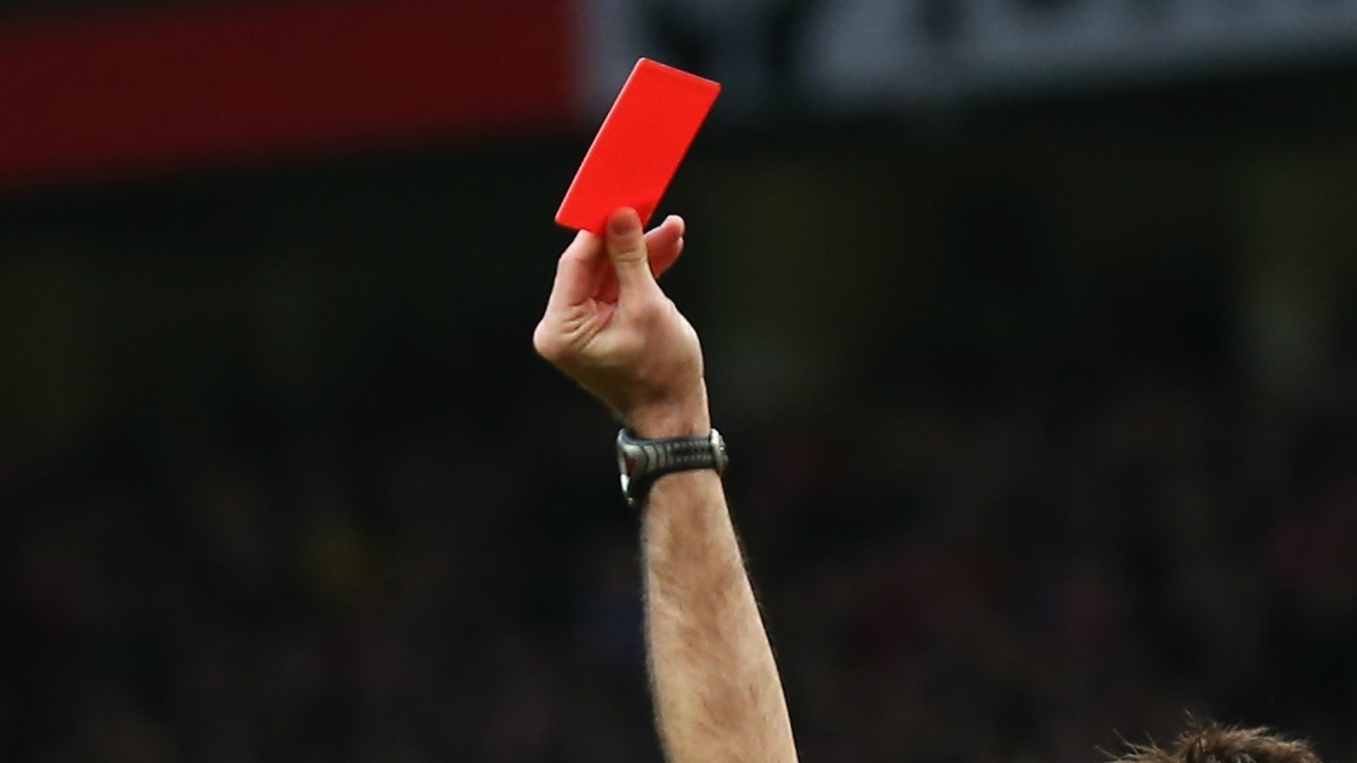 Football red card