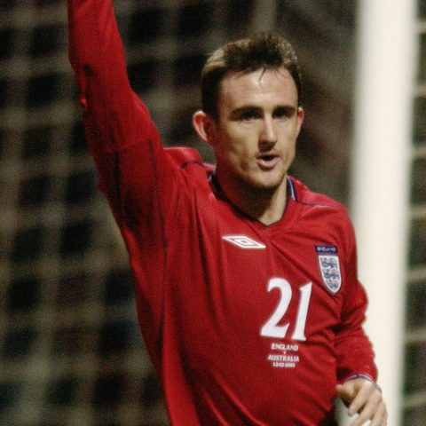 Francis Jeffers nets for England against Australia in 2003