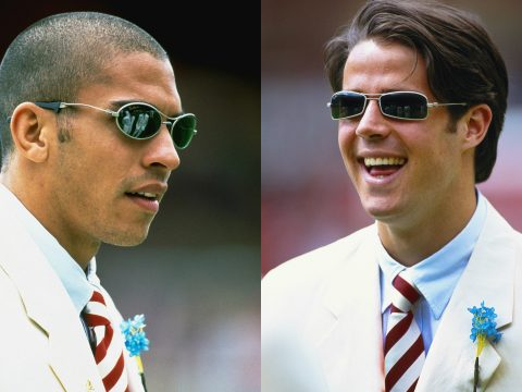 Liverpool FA Cup Final 1996 white suits