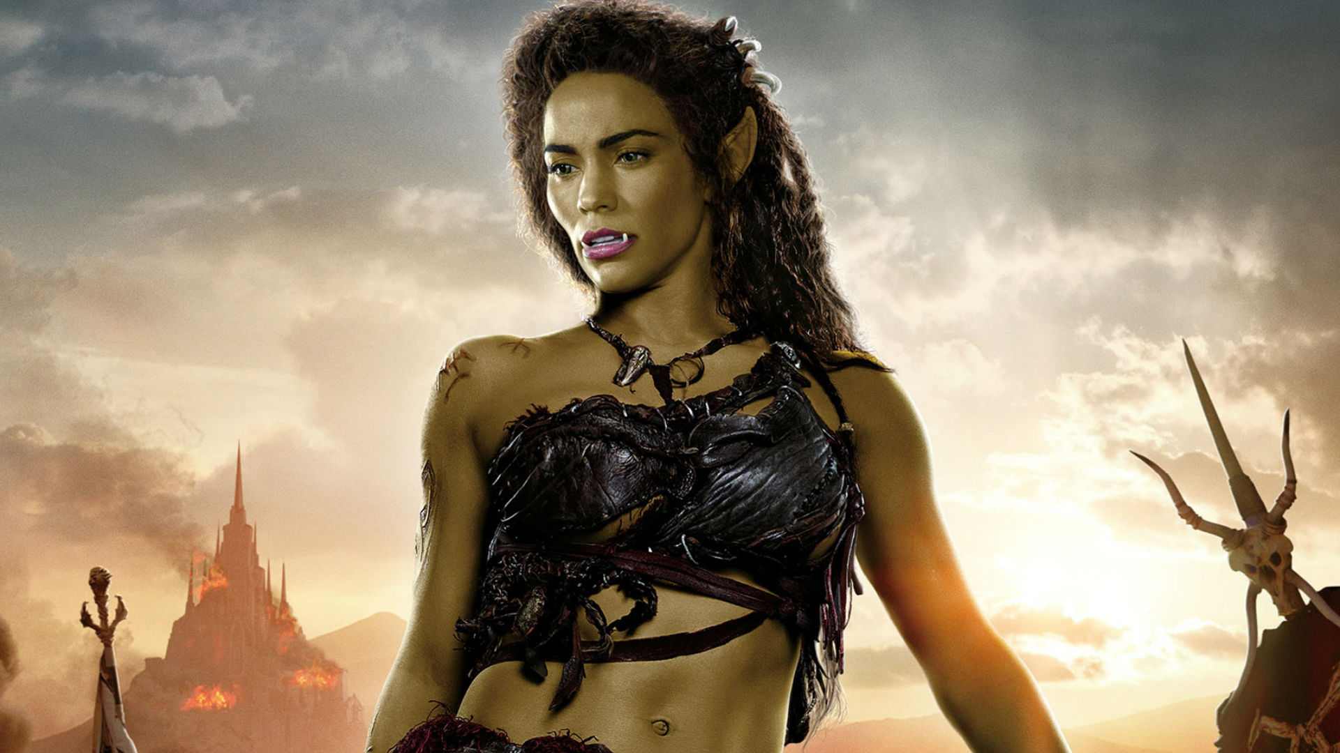 Paula Patton as Garona in Warcraft