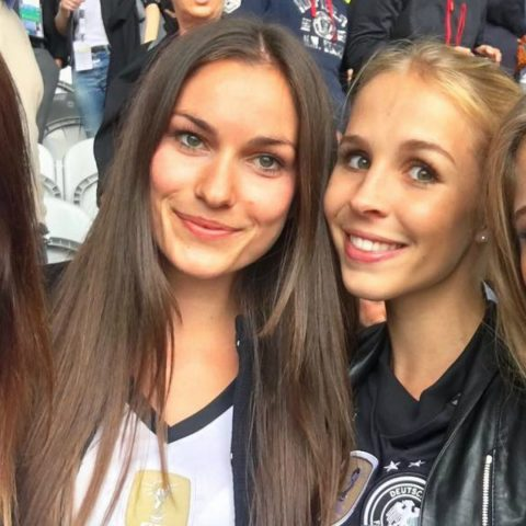 Cathy Hummels Germany Euros WAGs