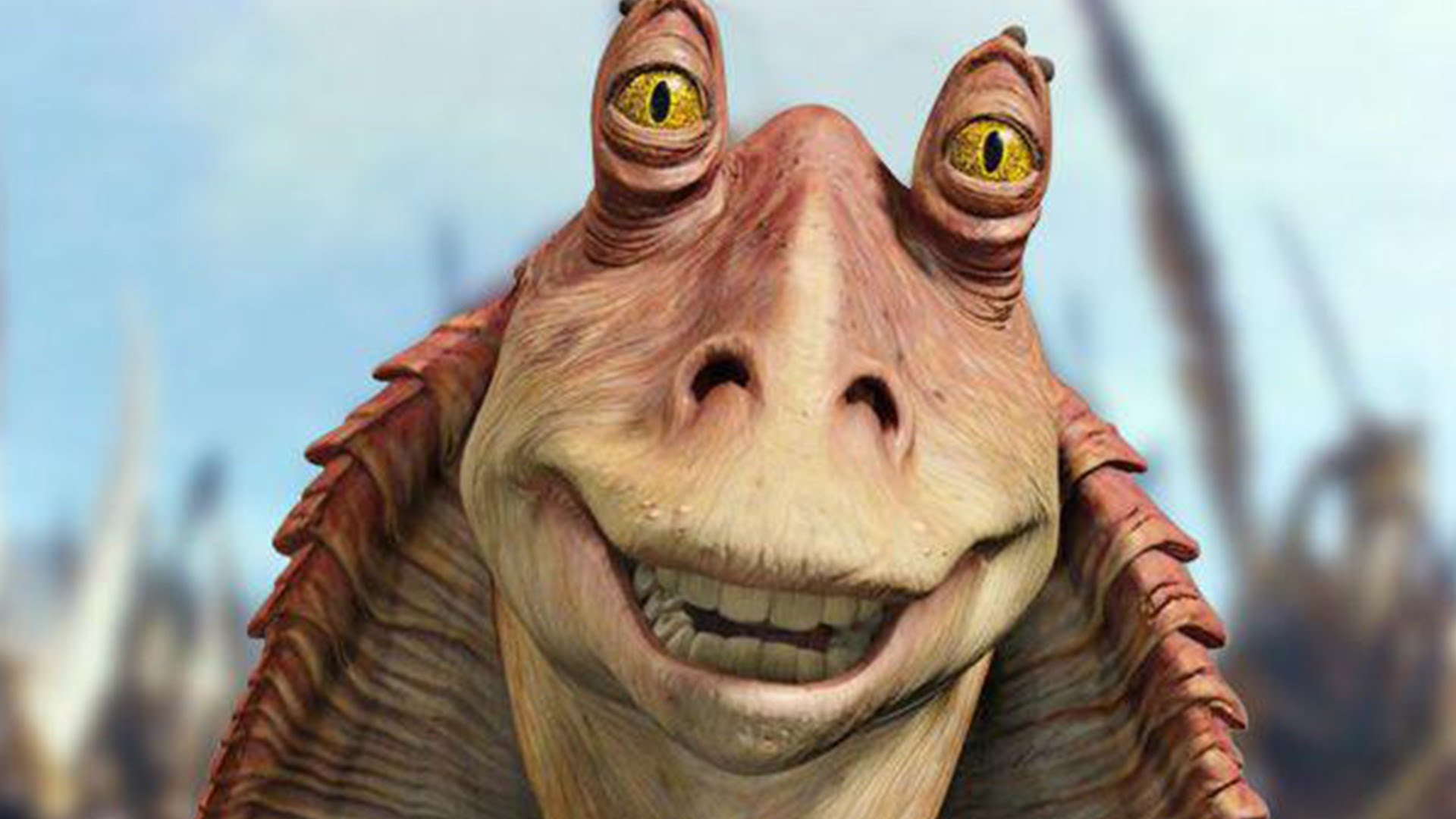 Jar Jar Binks in Star Wars: The Phantom Menace