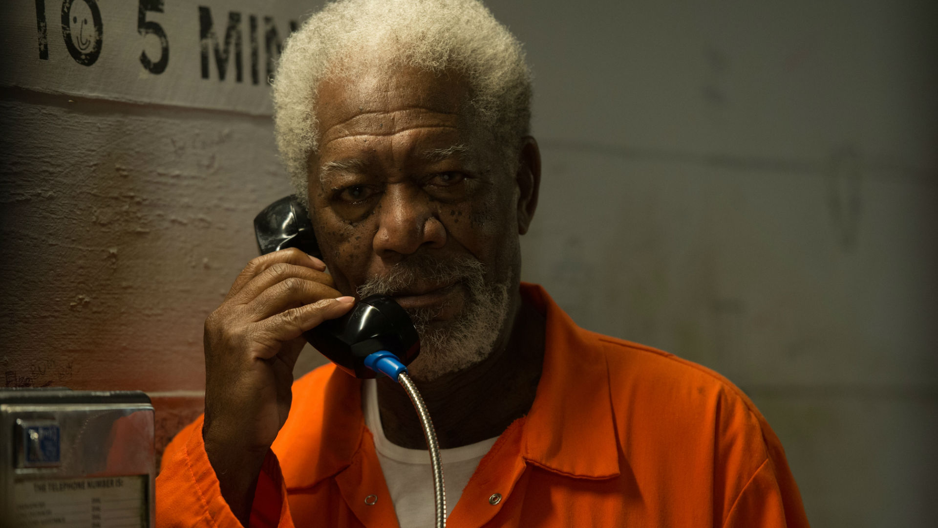 Morgan Freeman in Now You See Me 2