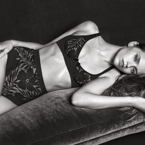 Abbey Lee's Agent Provocateur lingerie shoot