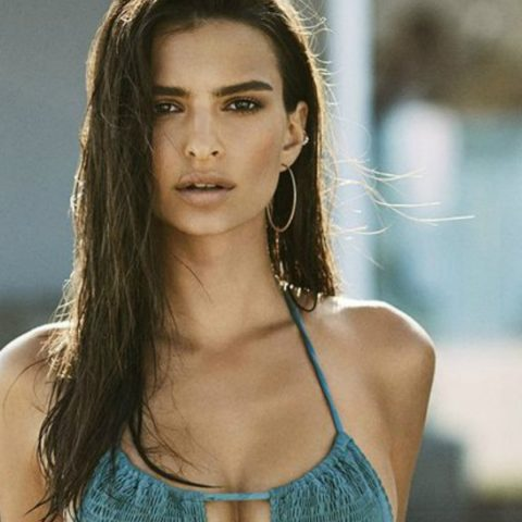 Emily Ratajkowski swimsuit campaign for Amore & Sorvete