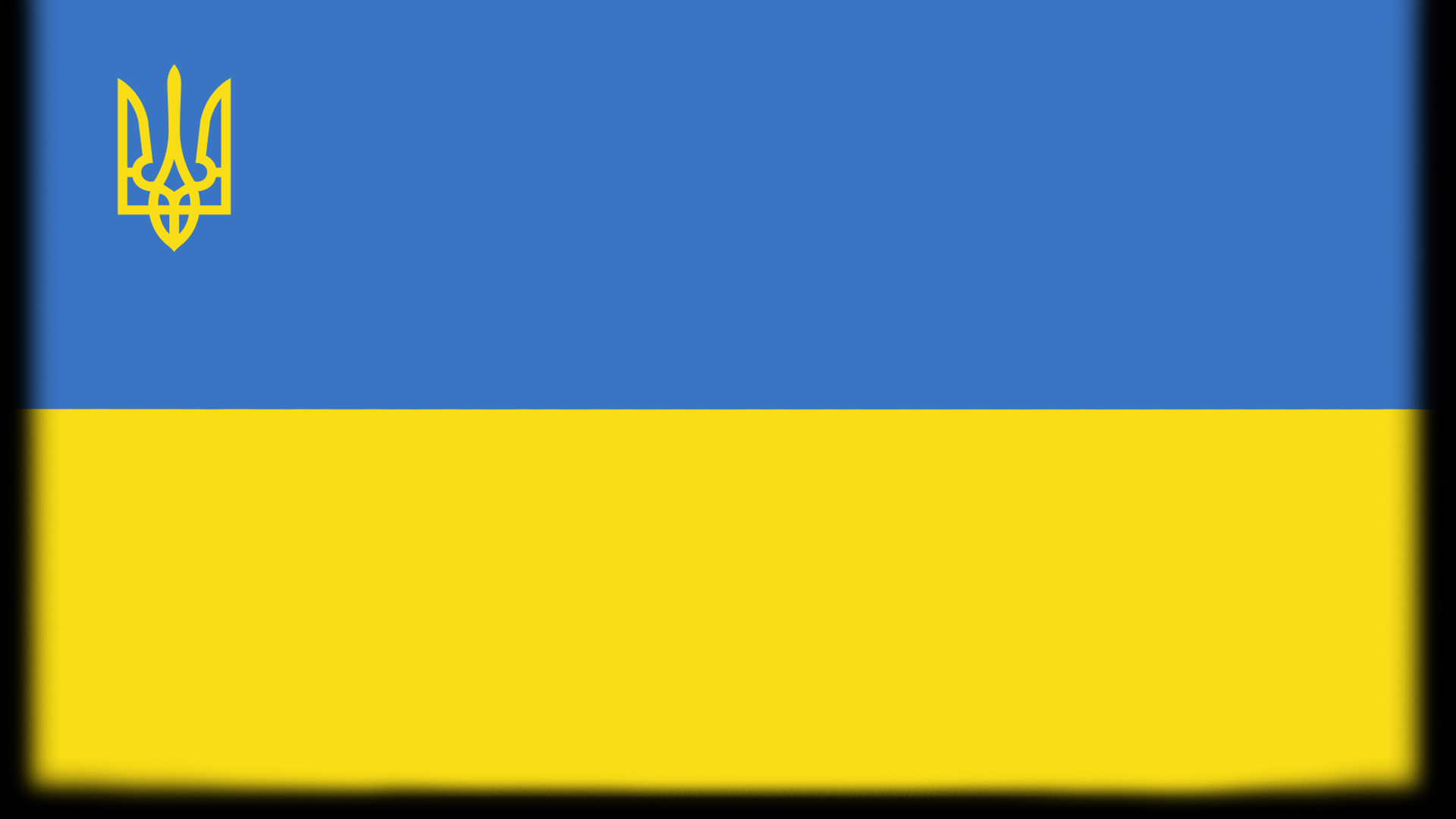 The Ukraine flag.