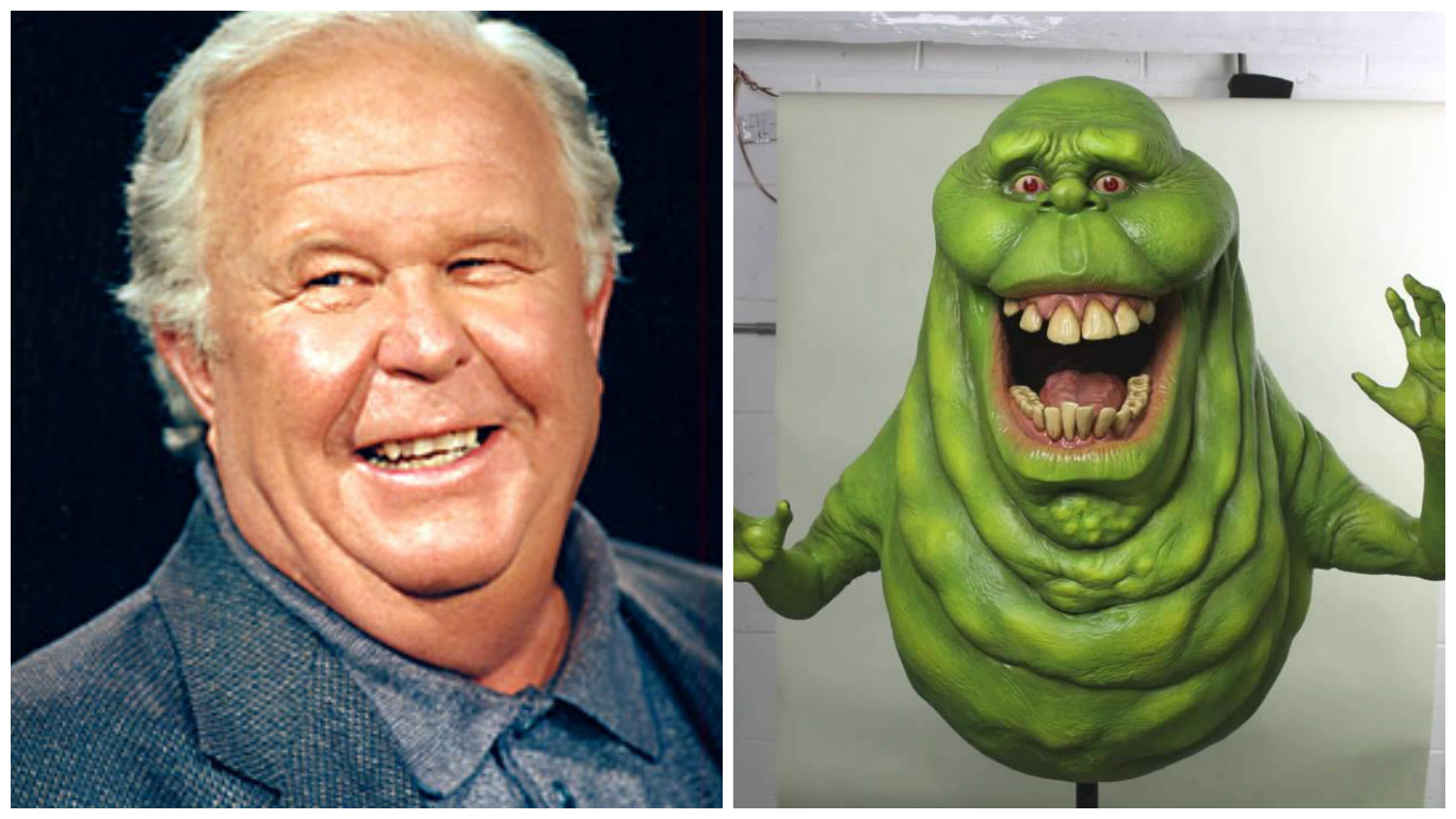 Ned Beatty is Slimer.