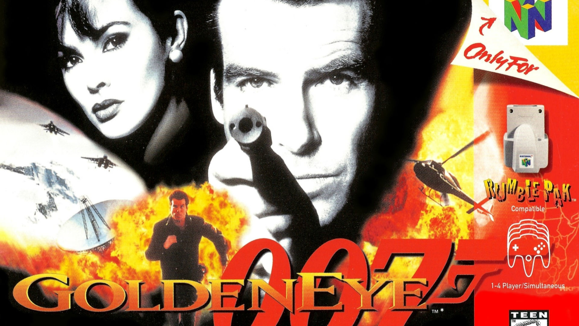 GoldenEye Nintendo 64 video games