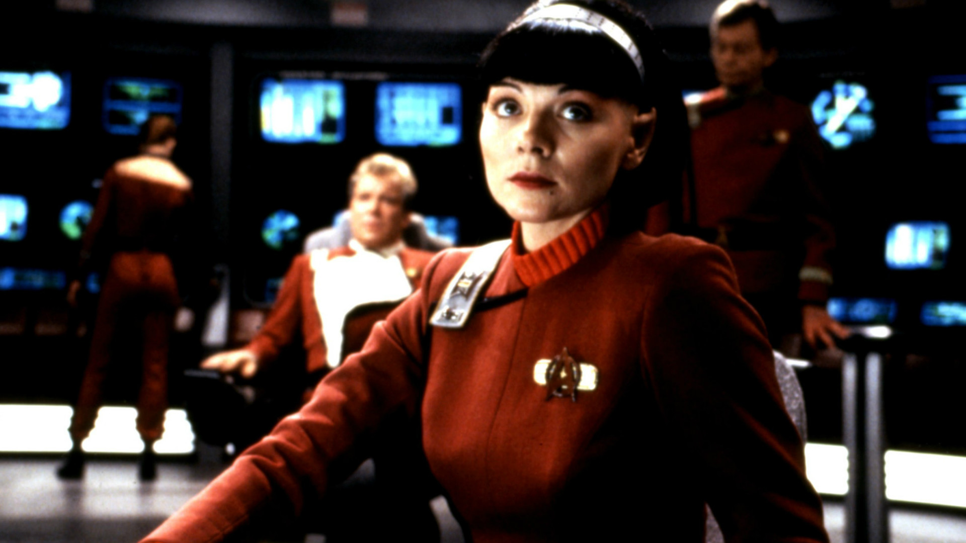 Kim Cattrall in Star Trek