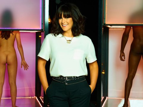 Anna Richardson on Naked Attraction.