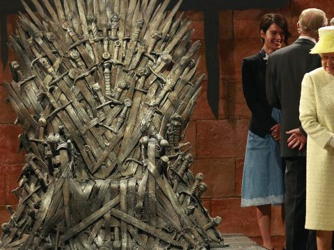 The Queen Game of Thrones Iron Throne