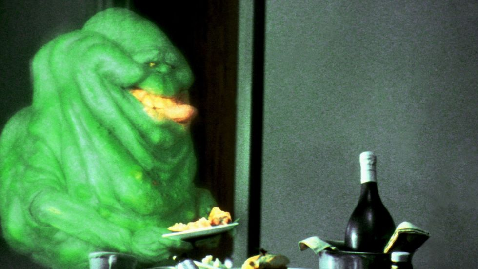 A very hungry slimer.
