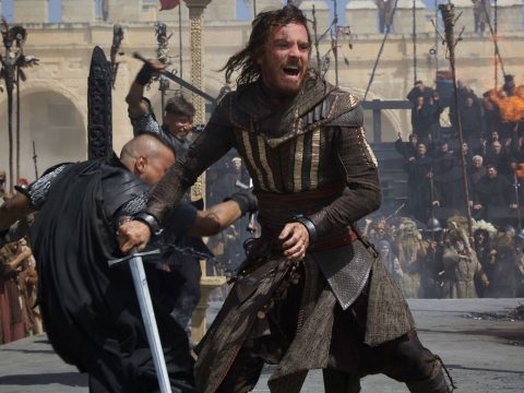 Michael Fassbender in the Assassin's Creed movie