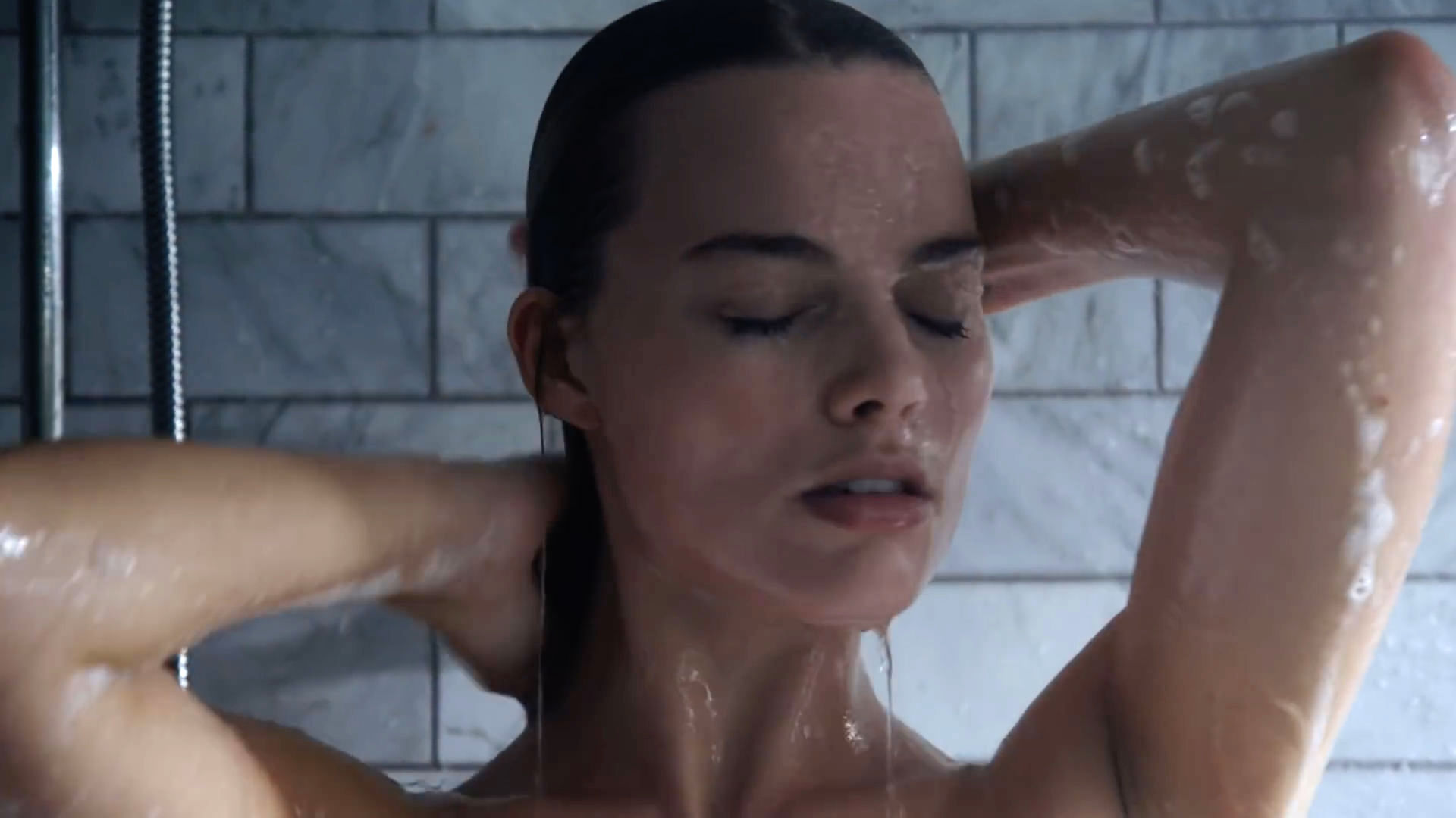Margot Robbie shower