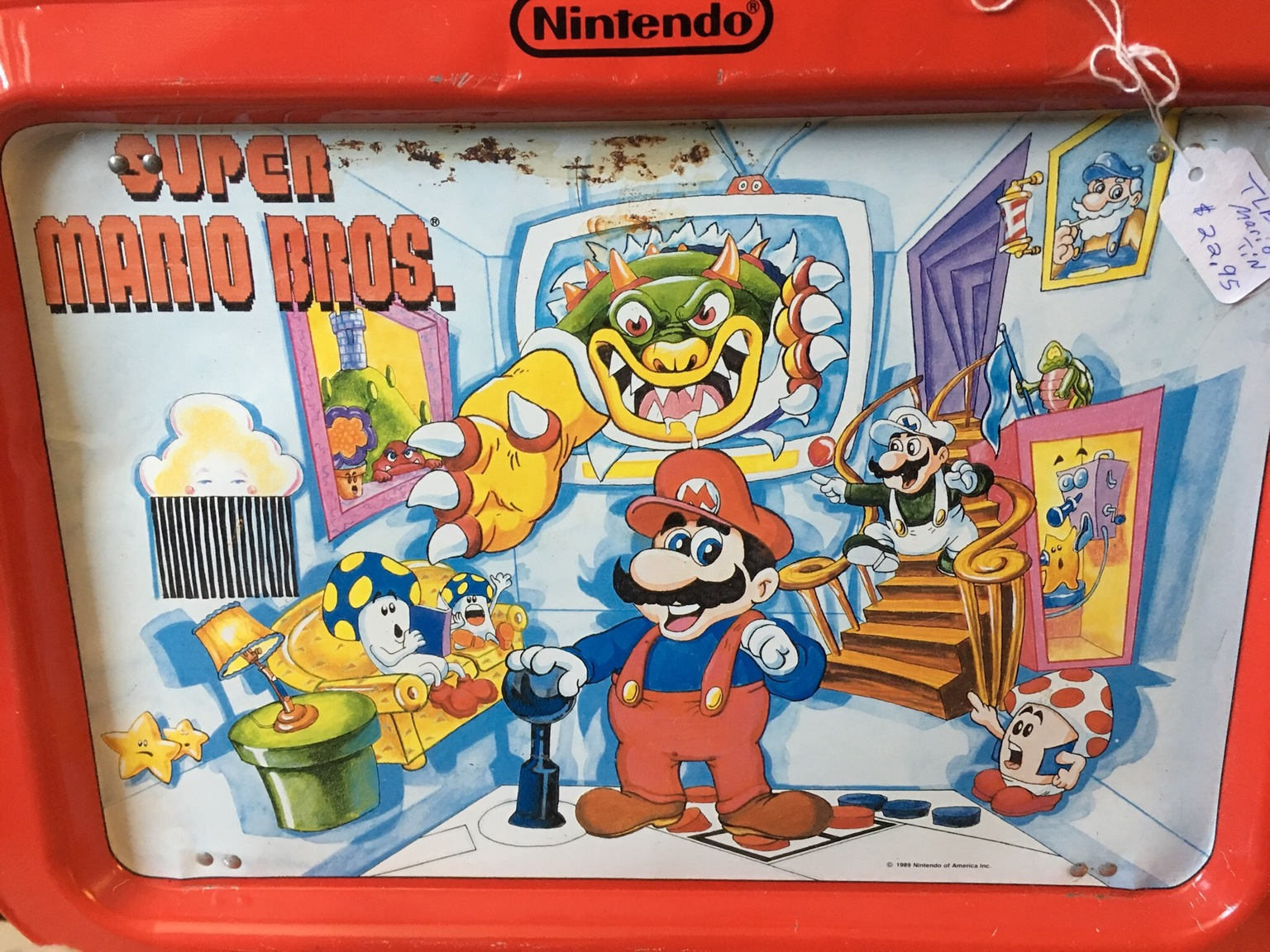 A Super Mario lunchbox from Reddit.