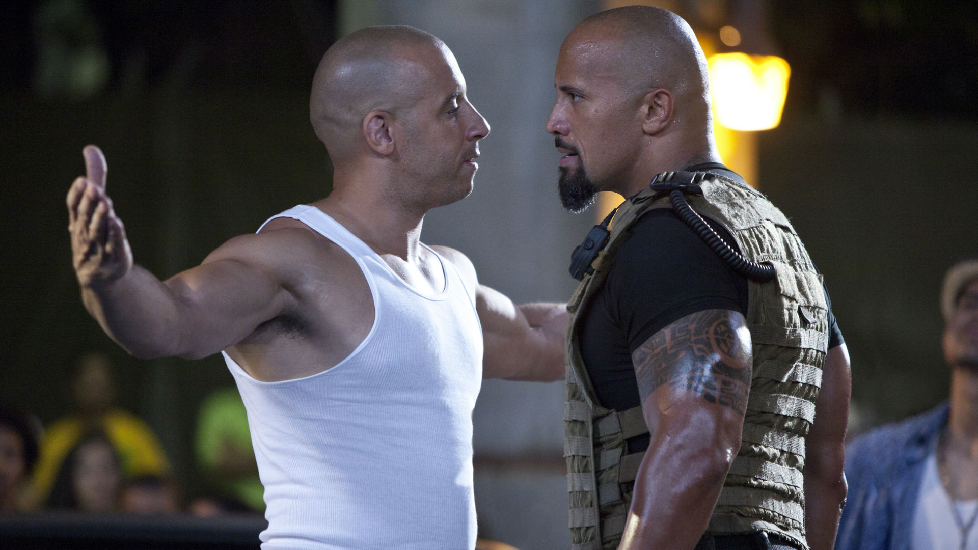 Vin Diesel and Dwayne Johnson's Fast & Furious feud
