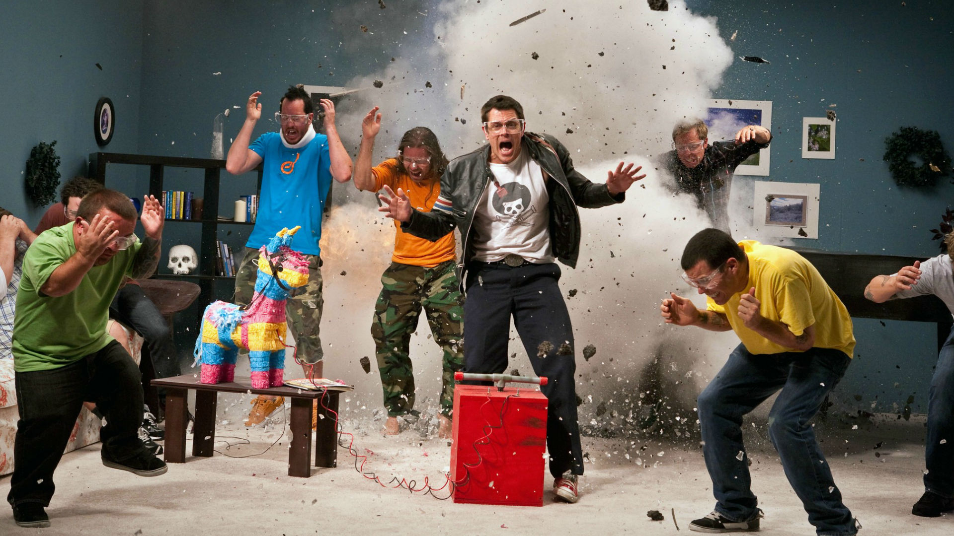 Steve-O and the Jackass gang