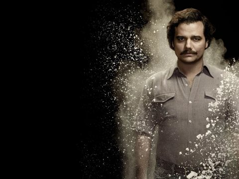 Pablo Escobar in Narcos.