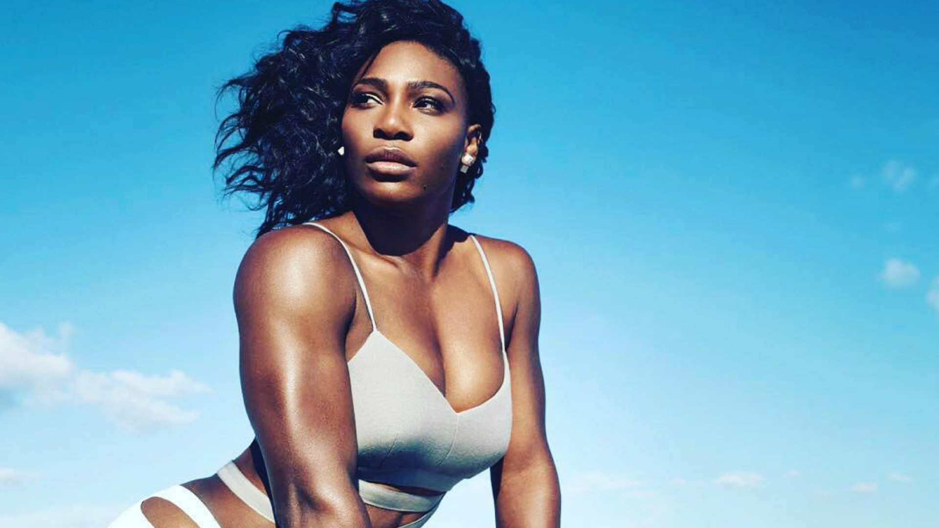 Serena Williams for Self magazine